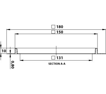 cross-sectionAquaberg renovatieput RP15-316