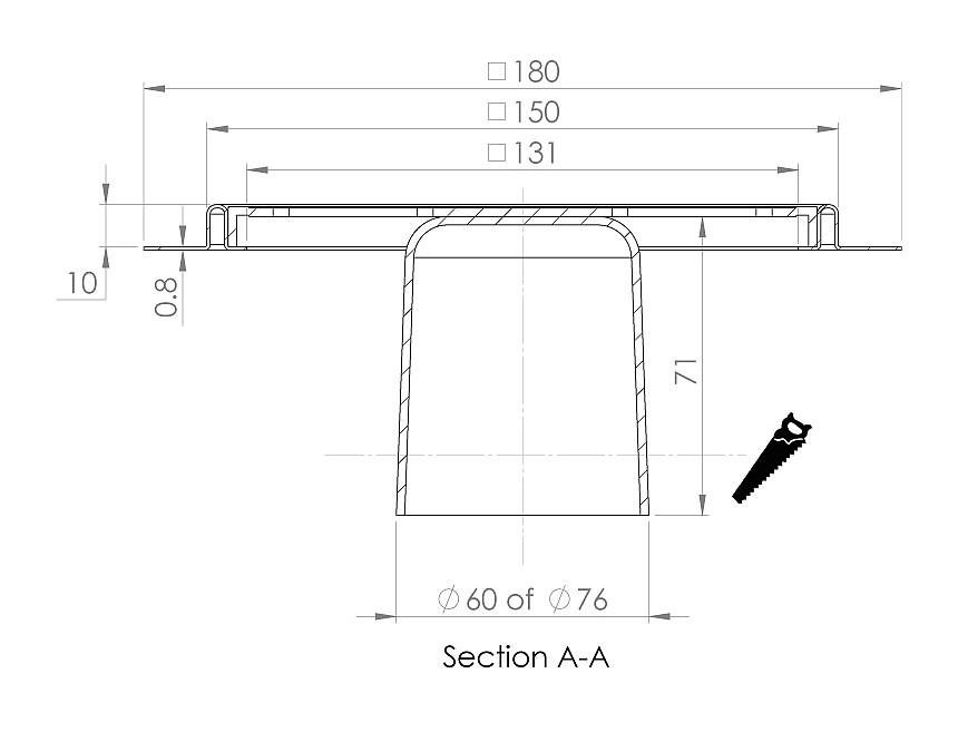 cross-sectionAquaberg renovatieput RP15/179