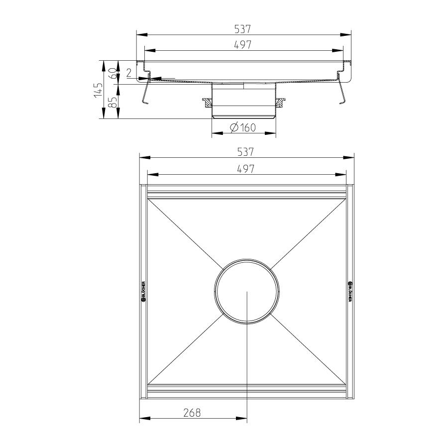 cross-sectionKeukengoot 660GK005-06