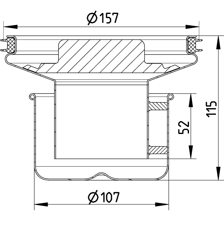 cross-sectionWaterslot 562.002.000 S