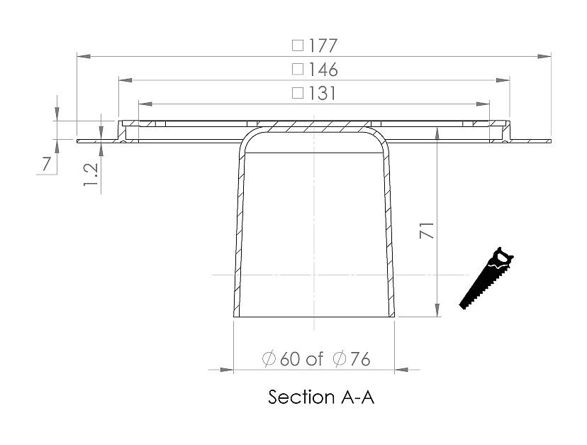 cross-sectionAquaberg renovatieput RP146KR-7/179